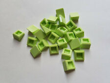 Lego Yellowish Green Slope 30 1x1, Part 54200, Element 6109495, Qty:25 - New