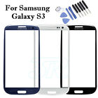 Front Screen Lens + Tools For Samsung Galaxy S3 Replacement Glass i9300 i9305