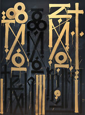 "RETNA ""Eastern Realm"" GOLD! Signed & Numbered! Ed of 60 *MINT* *RARE*"