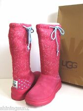 Ugg I Heart Knit Slouchy Punch Women Boots US4/UK2.5/EU35/JP21