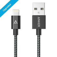 Anker 3ft Nylon Braided USB Cable with Lightning Connector for iPhone 6s 6 Plus