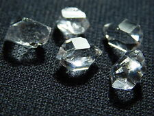 A Lot of FIVE! 100%Natural AAA Herkimer Diamond Crystals From New York 12.04ct e
