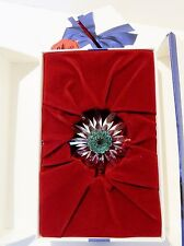 SWAROVSKI SCS 2001 RENEWAL GIFT  FLOWER DAISY  WITH  GREEN CENTER , CLEARANCE