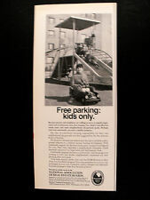 1969 National Real Estate Board Kids Toy Pedal Car Memorabilia Print AD
