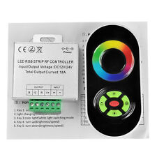 RF CONTROLLER RGB LED STRIP TOUCH RF DIMMER COLOR RING DC 12V/-24V 18A 218W