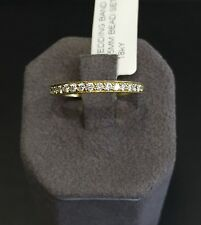 18K Yellow Gold & Diamond Band