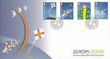 (96196) GB Guernsey FDC EUROPA 9 May 2000