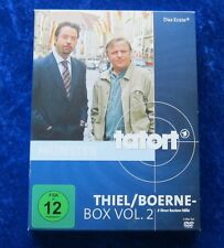 Tatort Thiel/Boerne Box Vol. 2, 3 ihrer besten Fälle, DVD Box