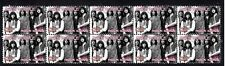 DEEP PURPLE ROCK ICONS STRIP OF 10 MINT STAMPS 1
