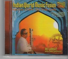 (GA417) Indian World Music Fusion: Seven Steps to the Sun - 1998 CD