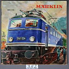 Märklin Original Katalog 1960 / 61 D mit DM- Preisen ohne Gutschein - . - (352)