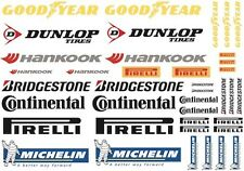 Tyre Brands Decal Sheet for 1/10 PD1004