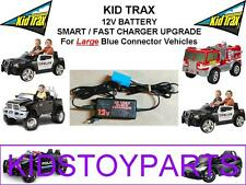 12V Smart FAST Charger 4 Kid Trax Dodge Police Cars & More Ride on Power Wheels!