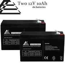 PACK OF 2 12 VOLT 10 AH SEALED LEAD ACID BATTERIES FOR ELECTRIC Chair SCHWINN