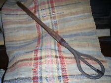 Antique Victorian Wire Mesh Rug Clothes Pillow Beater Whip Fluffer
