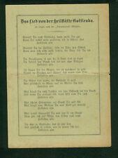 La canzone di della salvezza vista democratico Gottleuba 1910-1920 R. Leupold benessere 1. guerra mondiale