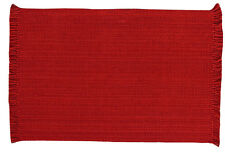 Casual Classics Cotton Placemat ~ Red