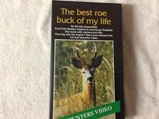 The Best Roe Buck of my Life Poul Erik Madsen VHS Video