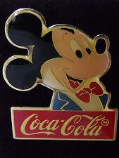 1986 Disney Coke 15th Coca Cola Mickey Mouse Superstars LE 1000 Pin Rare