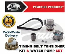 FOR AUDI A3 2.0 BMM 8V 2003-2008 GATES TIMING CAM BELT KIT & WATER PUMP SET
