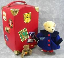 Steiff Muffy World Travele Outfit Sealed in bag from 2008 and Very Hard to Find