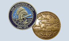 USS Quillback SS 424 Submarine Challenge Coin USN