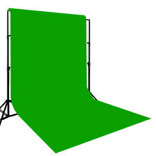 10x12 Muslin Chromakey Green Screen & Support Stand KIT