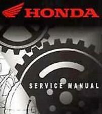2004 HONDA CRF70F DIRT BIKE OFFICIAL SERVICE MANUAL