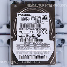 "TOSHIBA (MK1637GSX) 160 GB HDD 2.5"" 8 MB 5400 RPM SATA Laptop Hard Disk Drive"