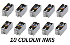 now ink 10 x CLI 36 COLOUR cli36 cli-36c FOR CANON PIXMA IP100 IP100, COLOR