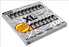 Pebeo XL Oil Colour Set 20 x 20ml Tubes + 1 Brush