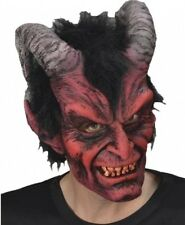Adult Unisex Zagone Diablo Rojo Red Devil Full Latex Halloween Mask fnt