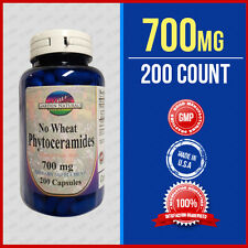 PHYTOCERAMIDES *NO WHEAT* ANTI-AGING Wrinkle Remover Herb 350mg + 350 = Max 700