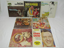 HANK SNOW 7 LP RECORD ALBUMS LOT COLLECTION Country Special/Souvenirs/In Hawaii+