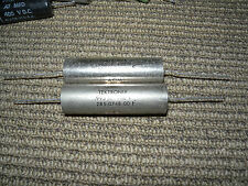 2 capacitors .995uf or 1uf 400v Germany or u.s.a with tested good.