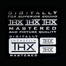 THX logo Metal Decal Sticker for home theater audio system 5.1 Channel Speakers