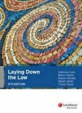 Used Book:  Laying Down the Law 9th Edition