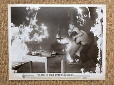 JEFF RICHARDS JOHN SMITH Original Vintage1959 Press Photo ISLAND OF LOST WOMEN