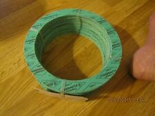 """5 NEW THERMOSEAL KLINGERSIL C-4401 GASKET RING  PIPE SIZE 6"""" THICK 1/16"""""""