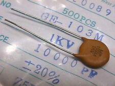 MP/Capar, GE-103M, Z5U, .01uF, ±20%, 1KV, ceramic disk capacitors, lot/500