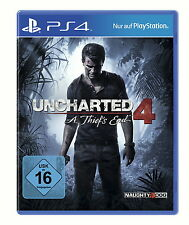 Uncharted 4 - A Thief´s End [ PS4 ] - PLAYSTATION 4 - NEU & OVP