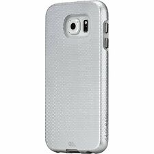 Case Mate Tough Dual Layer Hard Case Cover for Samsung Galaxy S6 S 6 Sliver NEW