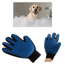 Pet Dog Cat Cleaning Brush Silicone Glove Hair groomer Massage Grooming Tool UK
