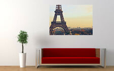 EIFFEL TOWER BACKGROUND NEW GIANT LARGE ART PRINT POSTER PICTURE WALL