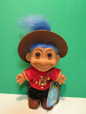 "AROUND THE WORLD CANADA - 5"" Russ Troll Doll - NEW IN ORIGINAL WRAPPER"