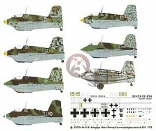 Peddinghaus 1/72 Me 163 B-1 Luftwaffe Standard & Maintenance Markings WWII 2075