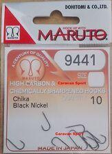 AMI FISCHEN 9441 BN GRÖßE 4.5 MARUTO SCHWARZ NICKEL A SCHAUFEL JAPAN HOOKS DE