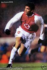"JOSE ANTONIO REYES ""RUNNING FOR ARSENAL FC"" POSTER -Soccer, UEFA League Football"