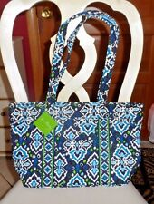 Vera Bradley Mandy handbag in Ink Blue pattern  NWT