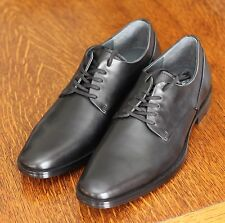 Calvin Klein Kirbe Men's 9 Lace Up Oxford Black Leather Dress Shoes - NEW!